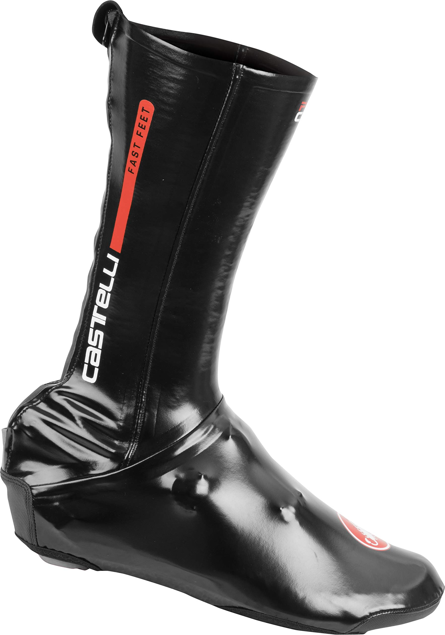 Castelli Fast Feet Road Shoecover Black, L