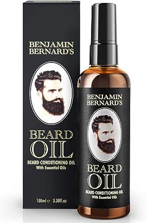 ACEITE ACONDICIONADOR SUAVIZANTE DE BARBA: El aceite de barba rejuvenece el cabello seco de la barba