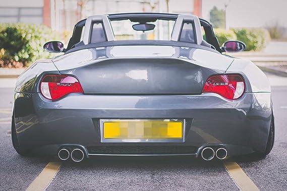 Vidrio de cristal para BMW 03 - 05 Z4 E85 40 mm más amplio derecho y izquierdo trasero Fender reemplazar cuerpo Exterior Kits par Flares arco 6PCS: ...