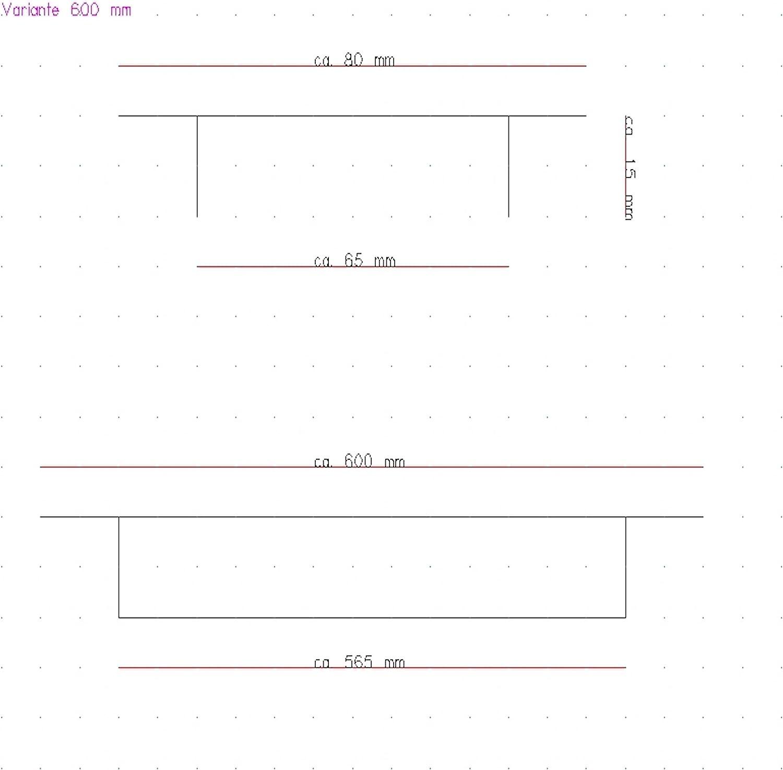 disponibles en diff/érentes tailles 30 cm 2x Grilles de ventilation en aluminium de haute qualit/é pour une ventilation id/éale