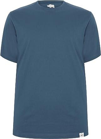 Badrhino Mens Big And Tall Crew Neck T-shirt