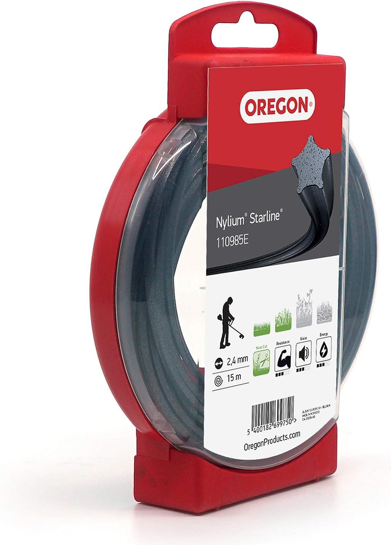 Oregon Nylium 110985E 2,4 mm 15 m Filo per decespugliatore