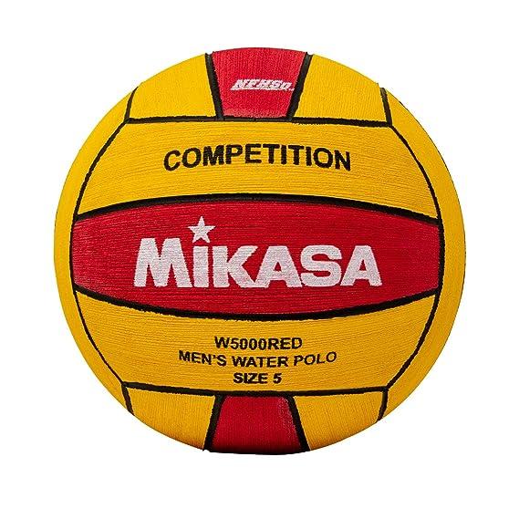 Mikasa W5000RED - Pelota de competición (tamaño 5), Color Rojo y ...
