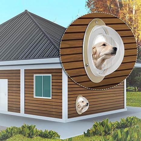 Ventana de cerca para mascotas Ventana en caja Pequeño perro mascota Cerca Burbuja Durable Prevenir desde