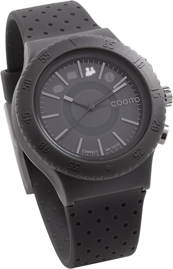 COGITO POP Smart Bluetooth Connected Watch - Grey Paloma