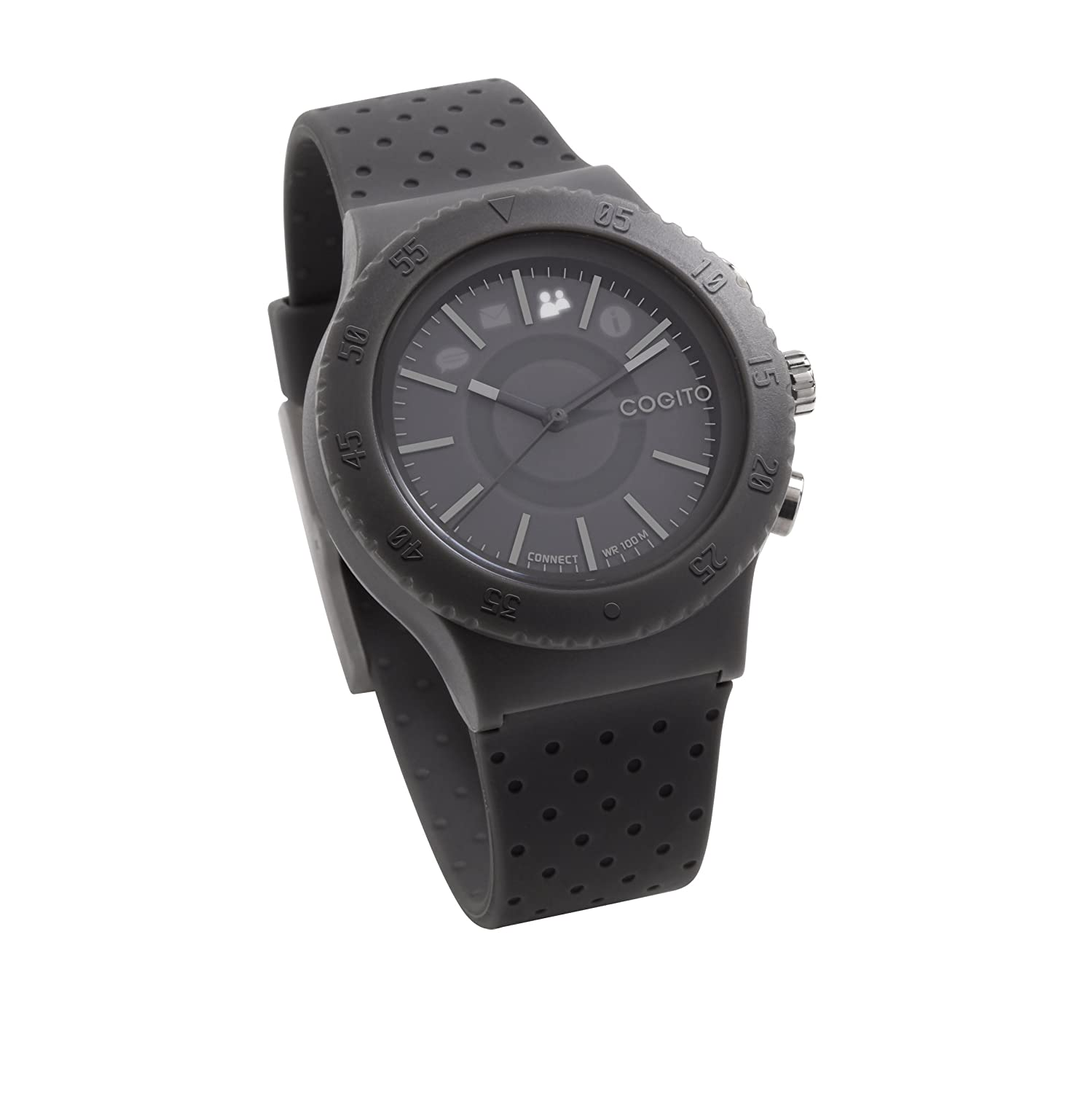 Cogito Pop Smart Bluetooth Connected Watch Grey Paloma 002 Senter Led Cell Phones Accessories