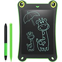 NEWYES Frog Pad LCD Writing Tablet, 8.5 Inch,Replace Magnetic Drawing Boards, Gifts for Kids (Green)
