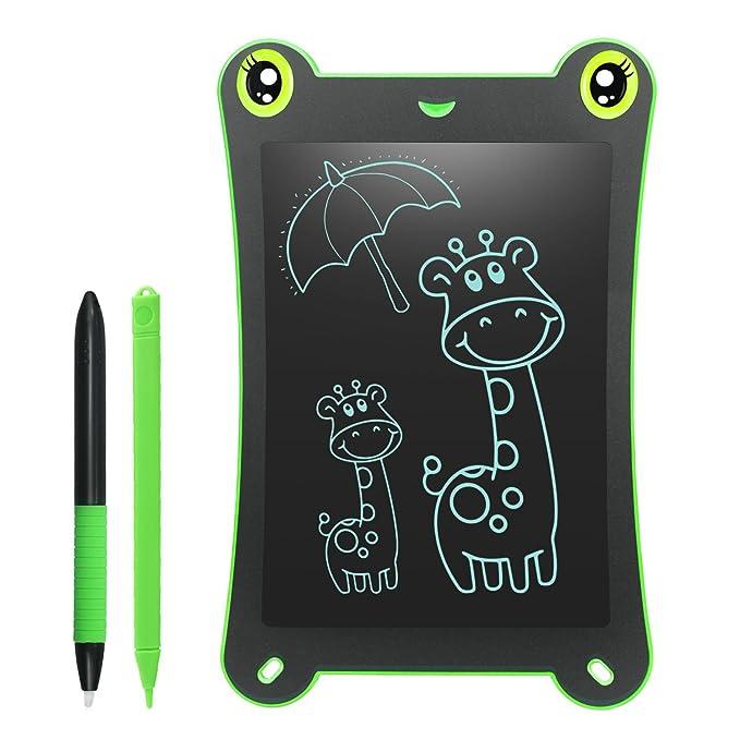 NEWYES LCD Kinder Tablet Zeichentafel Frog Pad - 8,5 Zoll - Grün