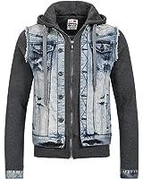 Cipo & Baxx Herren Jeans Jacke CJ-112 Used-Look