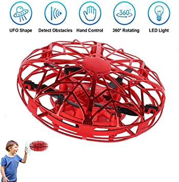 JCT Dron para Niños Mini Drone UFO Flying Ball para Niños de 4-10 ...