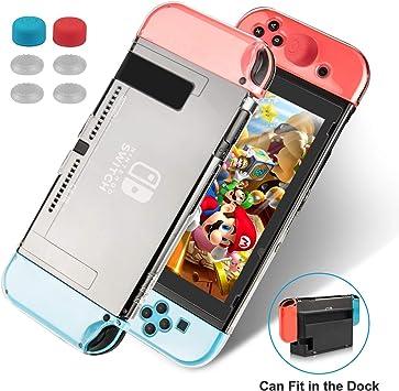 Keten Funda para Nintendo Switch, Funda Transparente Versión ...