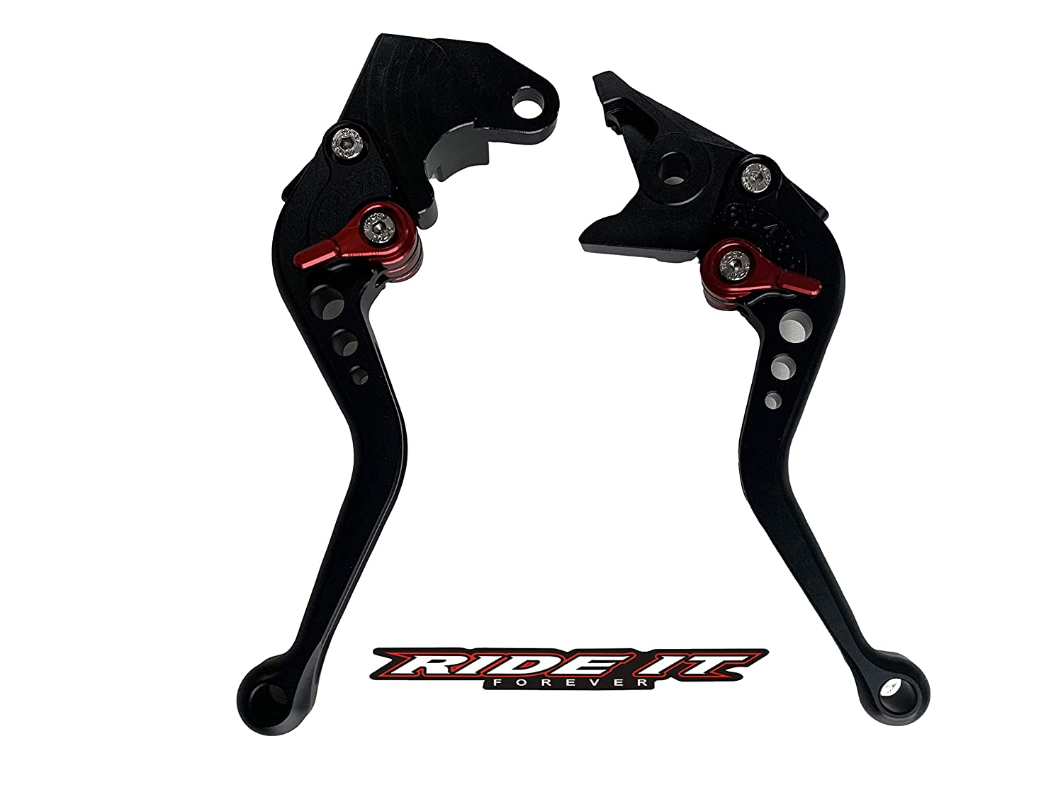 Short Brake Clutch Levers for SUZUKI GSXR600 97-03,GSXR750 96-03,GSXR1000 01-04,GSR750 GSX-S750 11-16,TL1000S 97-01,SFV650 Gladius 09-15,DL650 Vstrom 11-12,GSR600 06-11-Purple
