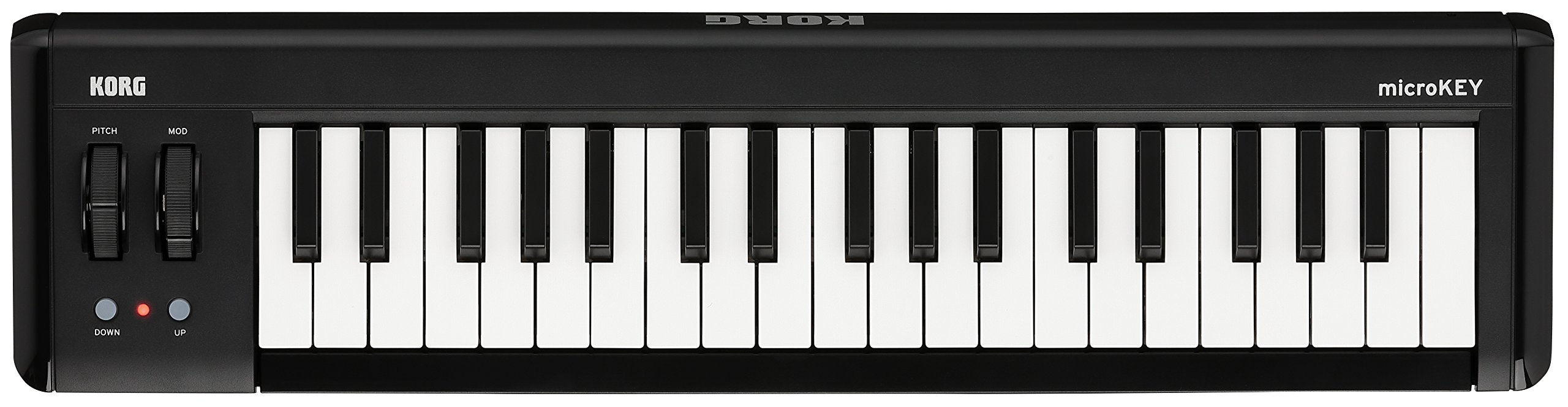 Korg microKEY2-37 - Key iOS-Powerable USB MIDI Controller with Pedal Input by Korg