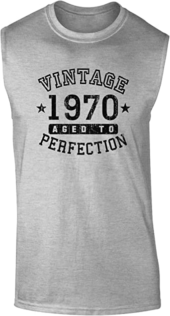 Vintage Birth Year Muscle Shirt Brand TooLoud 1990