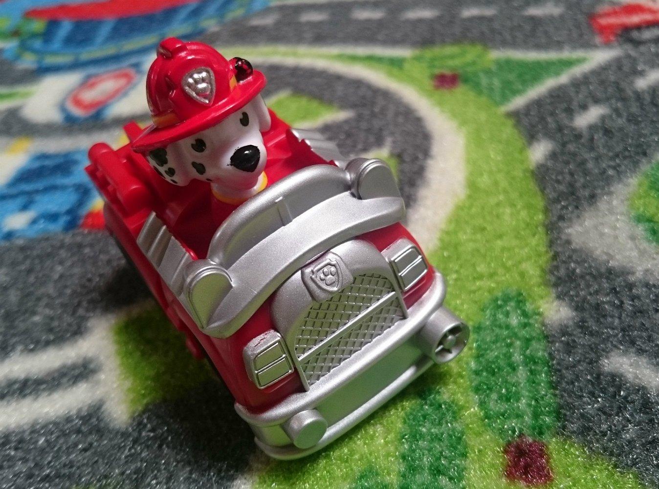32x44 32x44 G.A Gertmenian /& Sons 31054 Paw Patrol Toys Rug 2017 HD Marshall Fire Truck Adventure Bay Kids Game Play Mat Gertmenian