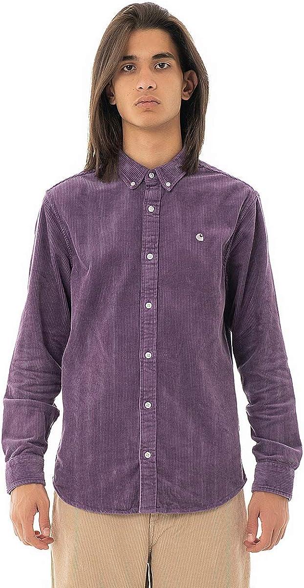 Carhartt Madison Cord Shirt I025247 Dusty Mauve - Camisa de ...