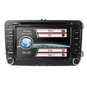 In Dash - Reproductor de DVD y CD para coche, GPS estéreo, 7 ...