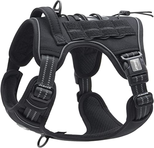 Auroth-Tactical-Dog-Training-Harness-No-Pulling-Front-Clip-Leash
