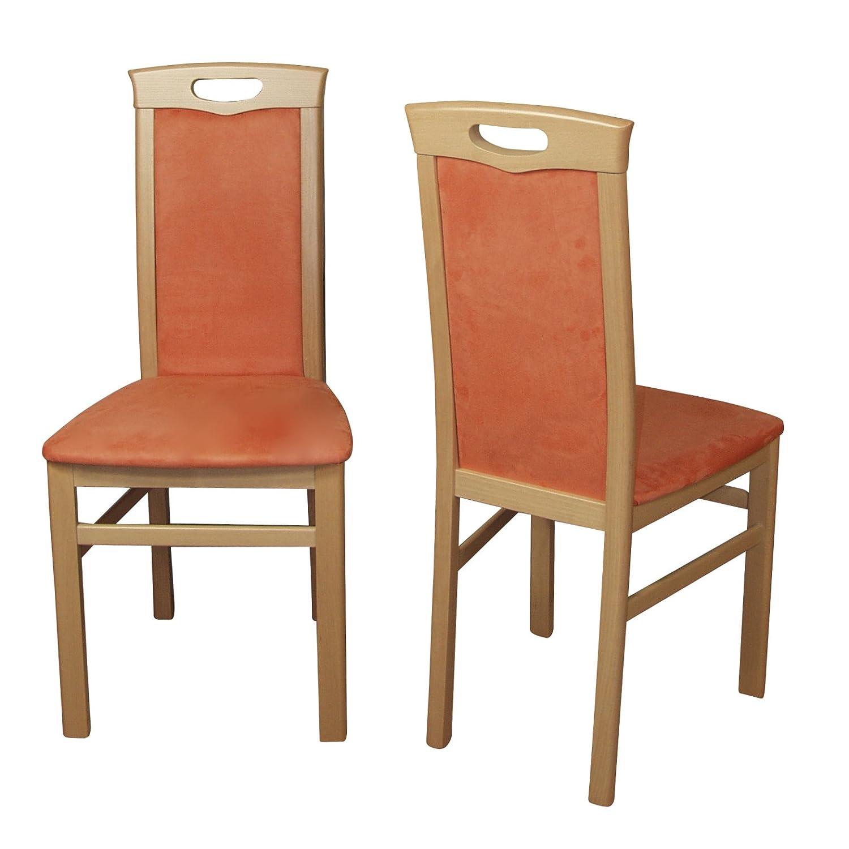 buche natur// terracotta moebel direkt online Stuhl Massivholz 2er Set