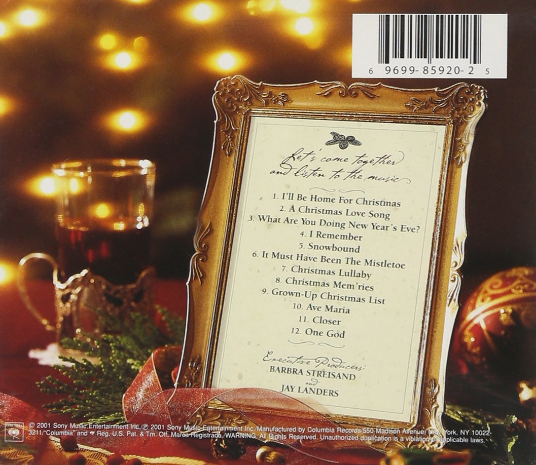 Barbra Streisand - Christmas Memories - Amazon.com Music