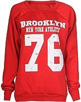 Fast fashion sweat-shirt pour femme geek brooklyn boy cocaine pression