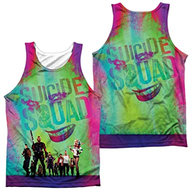 ee7d6bb9b Amazon.com  Sublimation Front Back  Suicide Squad - STAND OFF All ...