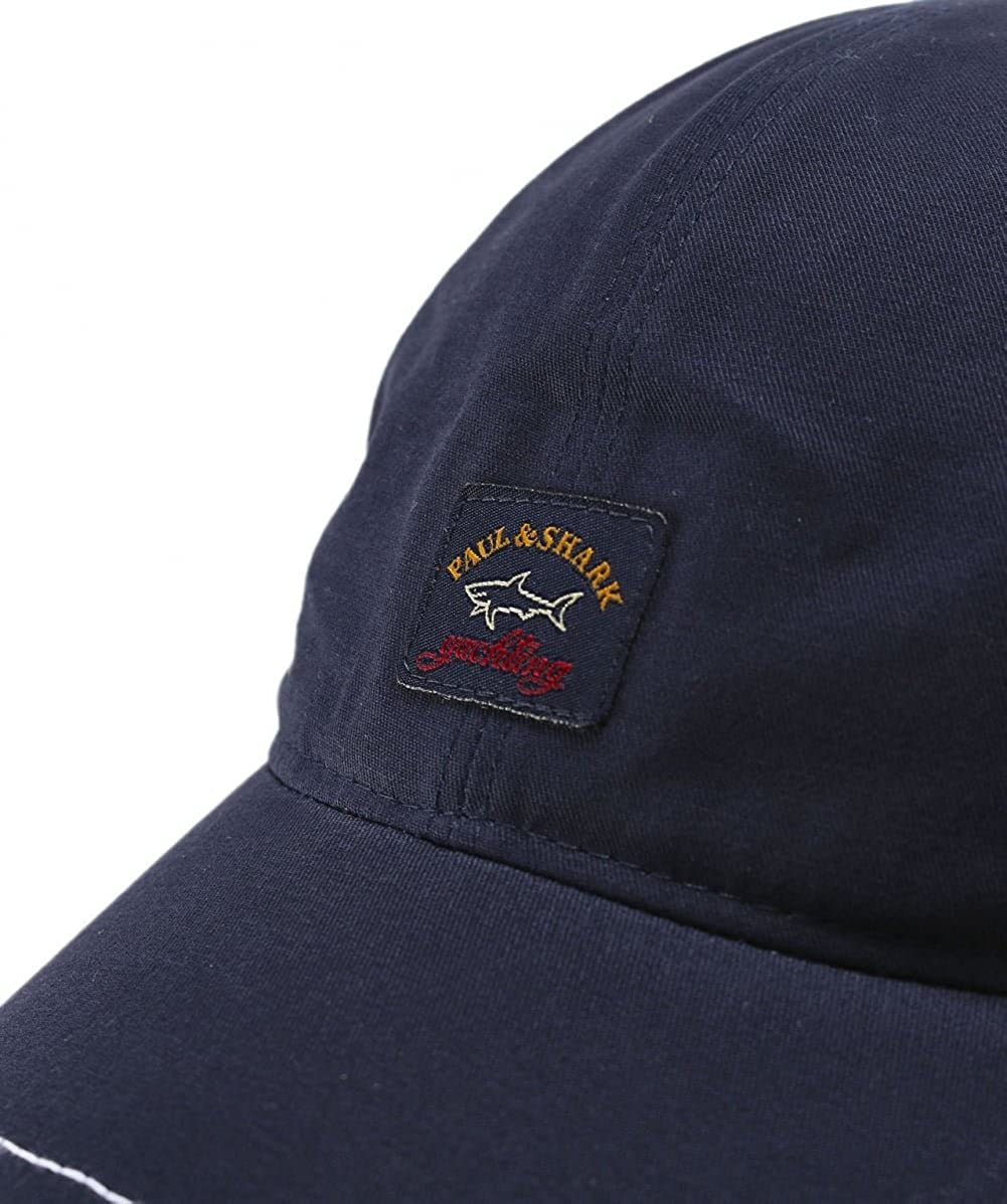 Paul   Shark Mens Navy Baseball Cap  Amazon.co.uk  Clothing a67450efc94f