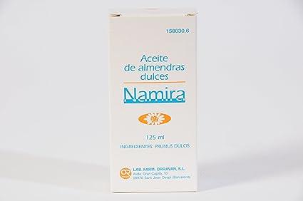 ORRAVAN - ACEITE ALMENDR DULC NAMIRA 125
