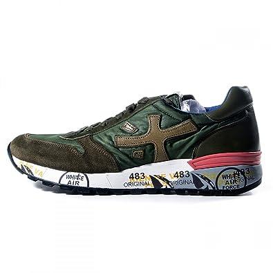 PREMIATA , Herren Sneaker Grün verde militare, Grün - verde militare -  Größe  42 b1dda473a1