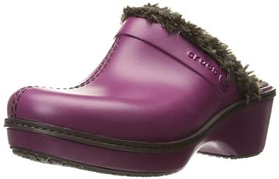f1d71c85f15a0d crocs Women s Cobbler Eva Lined Clog Mule