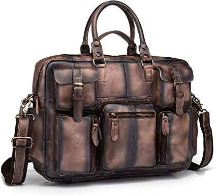 Mens Portfolio Business Case Handbag Briefcase Laptop Shoulder Messenger Bag New