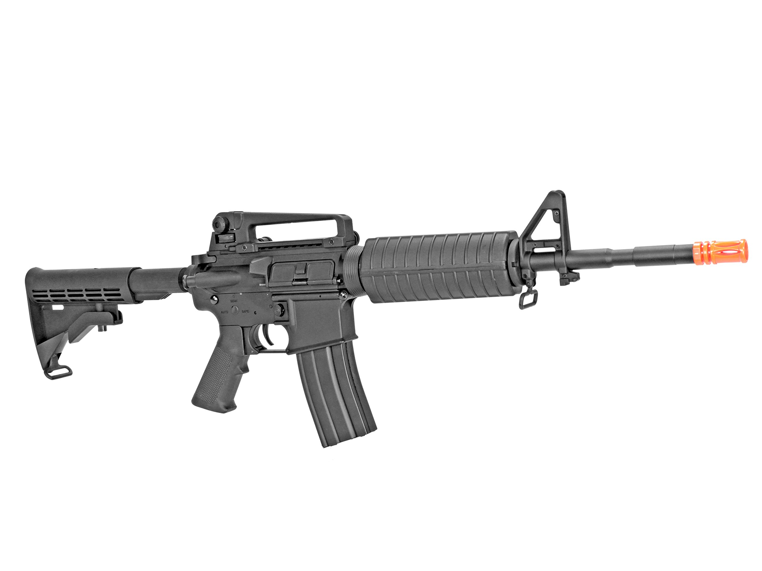 MetalTac CYMA CM010 Electric Airsoft Gun with Metal Gearbox Version 2, Full Auto AEG, Powerful Spring 370 Fps with .20g BBs