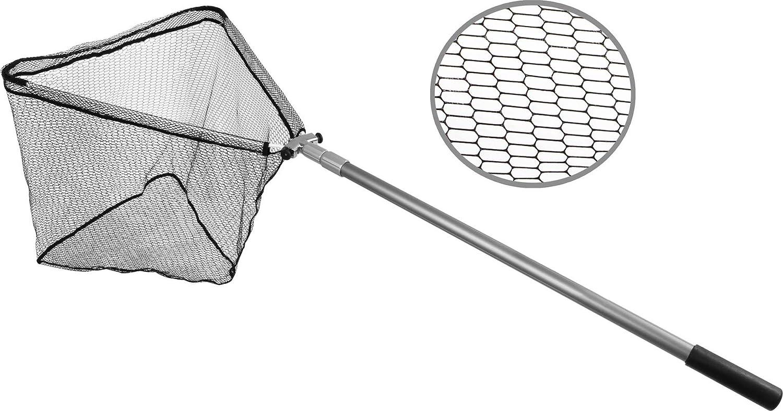 Fischkescher Unterfangkescher Fox Rage Speedflow II Foldable Medium Net 50x50cm Landehilfe Faltbarer Kescher f/ür Spinnangler