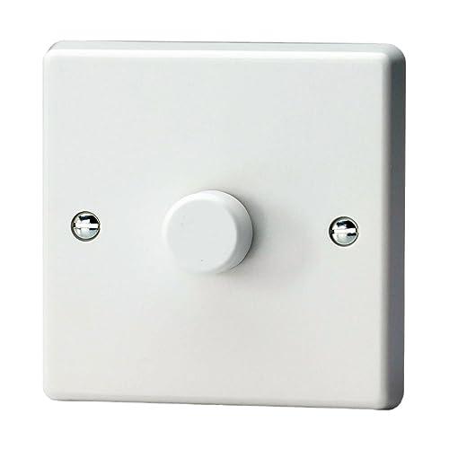 varilight classic white plastic 3 gang led trailing edge. Black Bedroom Furniture Sets. Home Design Ideas