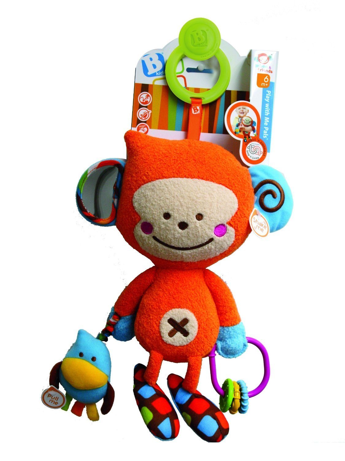 B kids Play With Me Pals Plush Toy