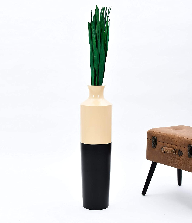 orange Palmblatt 120 cm Leewadee Dekob/ündel f/ür Bodenvasen Trockengesteck Dekogras Dekozweige