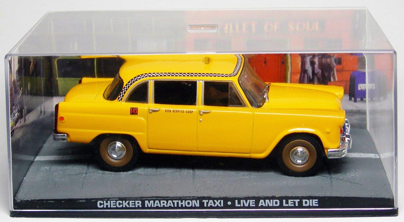 1/43 007 ボンドカー Checker Marathon Taxi 死ぬのは奴らだ B002XKHE9K