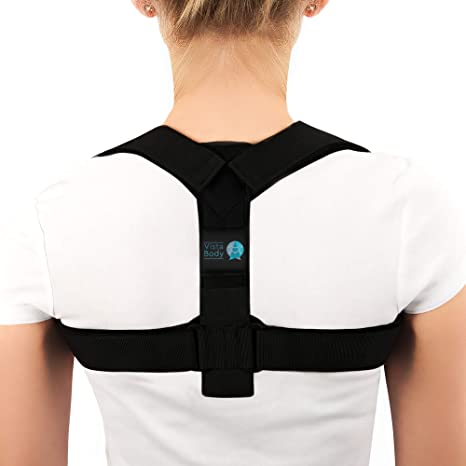 Corrector de postura, parte superior ajustable, hombro, columna ...