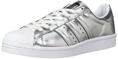 adidas Originals Women\u0027s Shoes | Superstar, SILVMT/SILVMT/Ftwwht, (5 M