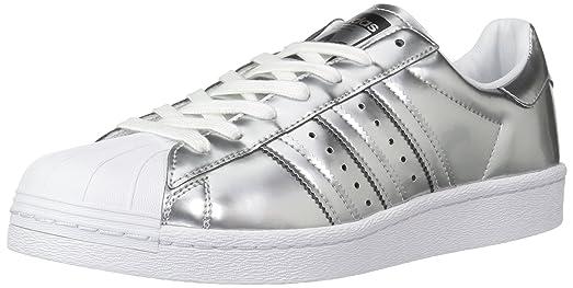 adidas Originals Women\u0027s Shoes   Superstar, Silvmt/Silvmt/Ftwwht, (5 M