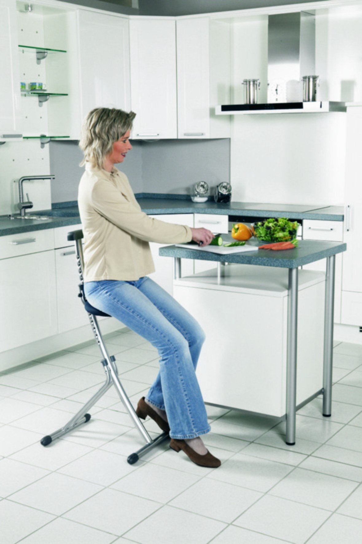 Office Chair with Back