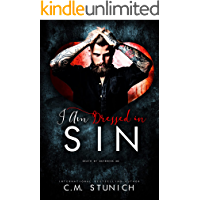 I Am Dressed in Sin: A Reverse Harem Age Gap Romance (Death By Daybreak Motorcycle Club Book 2)