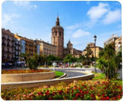 alfombrilla de ratón Plaza de la Reina y la torre del Micalet de ...