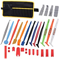 Gomake 6 Inch All-in-1 Squeegee with Ruler and Micro-Fiber Felt Edge Vinyl Applicator Sign-Making Graphic Wall Wrap Advertising Film Installation and Measuring Tool Pack of 3