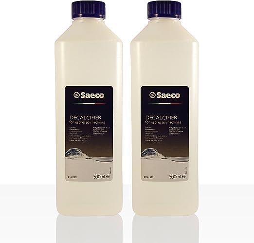 Saeco – Líquido antical para cafeteras automáticas, botella de 500 ...