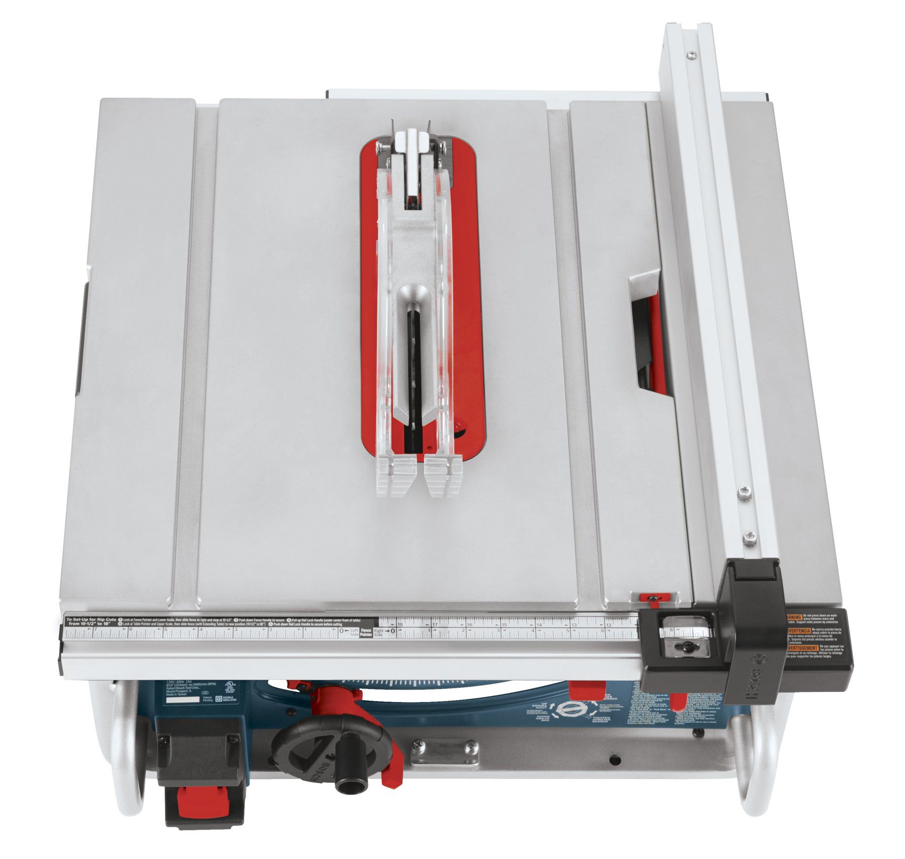 Bosch 10-Inch Portable Jobsite Table Saw GTS1031 with One-Handed Carry Handle by Bosch
