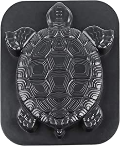 LEFUYAN Garden Sea Turtle Mould Tortoise Paving Mould for Making Stepping Stones Pathway Stone Decorative Stepping Stone Mold Concrete Cement Mould Garden Path