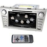 QSICISL 8 inch Toyota Camry/Aurion 2007 2008 2009 2010 2011 In Dash HD Touch Screen Car DVD multimedia Video Player GPS Navigation Stereo Support Bluetooth/SD/USB/Ipod/FM/AM Radio/DVR/3G/AV-IN/1080P