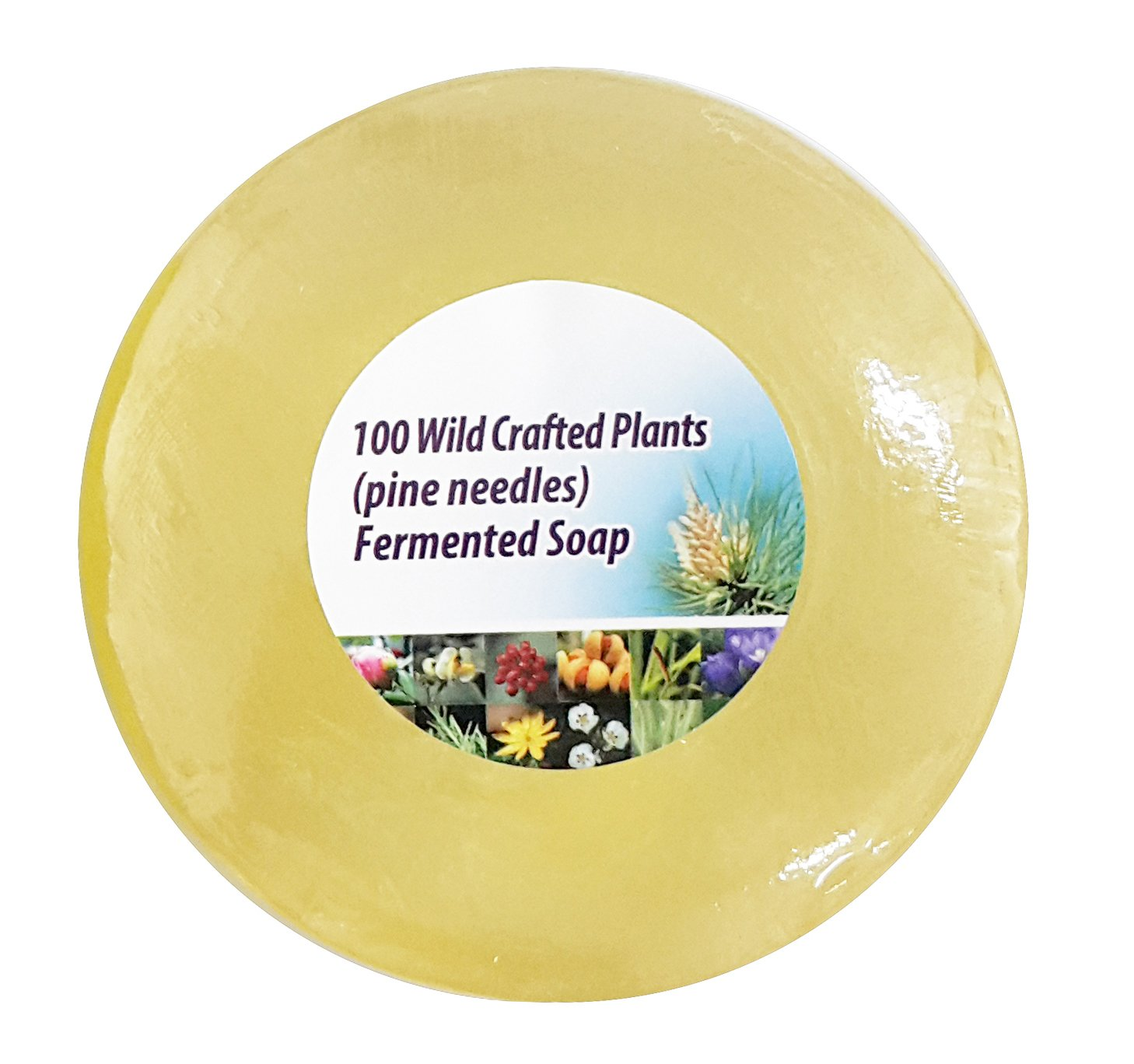 Live Pine Wild Plant Fermented Red Korean Pine Needle Oil Soap with Extracted Enzymes