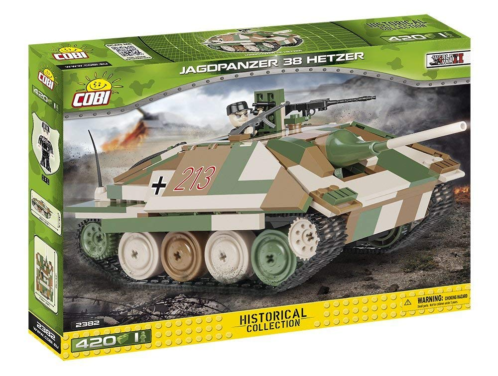 Cobi HistoricalコレクションJagdpanzer 38 Hetzerタンク   B07975119W
